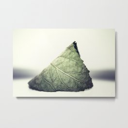 Solitude in Green Metal Print