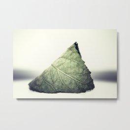 Solitude in Green Metal Print