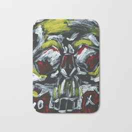 From a skull with love XOXO Bath Mat
