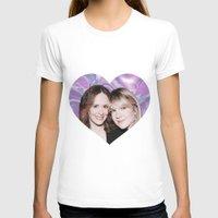 sarah paulson T-shirts featuring Sarah Paulson and Lily Rabe AHS Freakshow by IrasHorrorStory