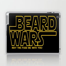 Beard Wars Funny Sci-Fi Design Laptop & iPad Skin