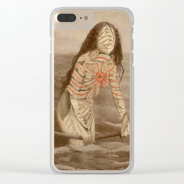 NUDES2 Clear iPhone Case