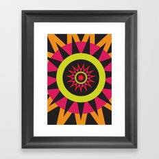 flor de oaxaca Framed Art Print