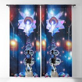 'Pleiadian Quantum Activations & Astral Lightship' Blackout Curtain