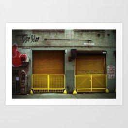 {love love} Art Print