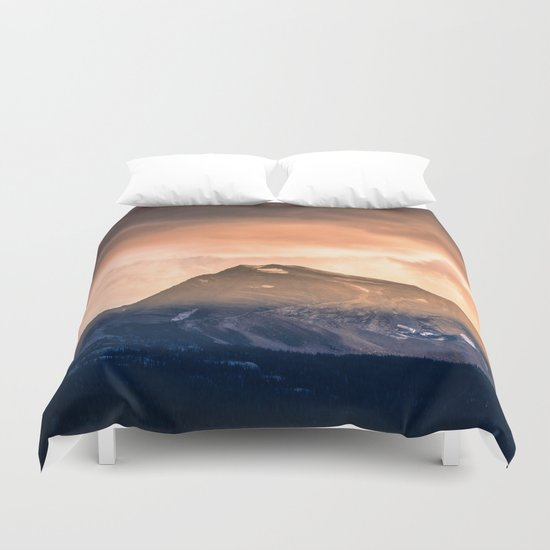 Majestic Mountain Duvet Cover