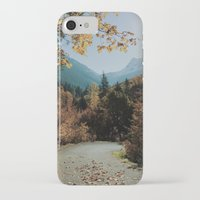 washington iPhone & iPod Cases featuring Washington Fall Rd by Kevin Russ