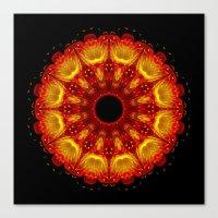 phoenix Canvas Prints featuring Phoenix by Mr. Pattern Man