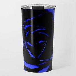 Blue Rose : Pretty Flowers Travel Mug
