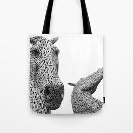 The Kelpies Tote Bag