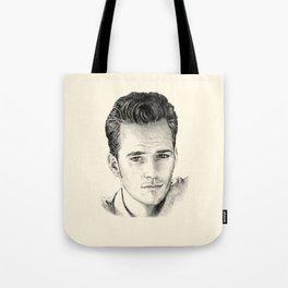 Luke Perry–Dylan McKay Tote Bag