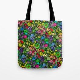 Prismatic Botanic Garden Tote Bag