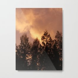 last lights of the day Metal Print