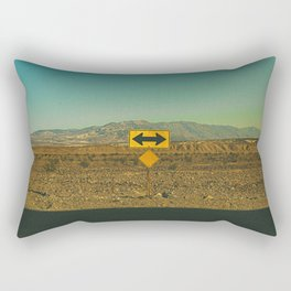 Which Way? / Death Valley, California Rectangular Pillow