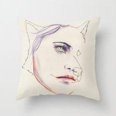 Boudeuse Throw Pillow