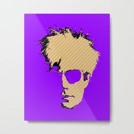 A.Warhol Metal Print