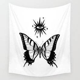 Mystic Beings Wall Tapestry