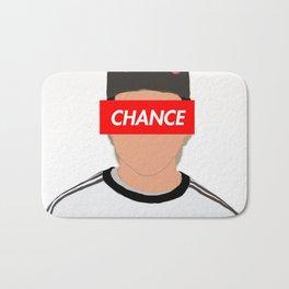 Chance the rapper vector art Bath Mat