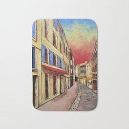 Streets of Aix-en-Provence Bath Mat