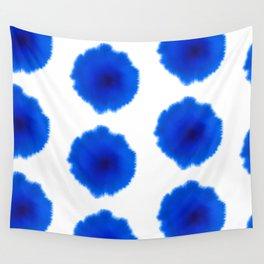 Blue splash Wall Tapestry