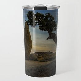 Juniper Tree in Joshua Tree National Park Travel Mug