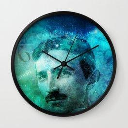 Tribute to Tesla Wall Clock