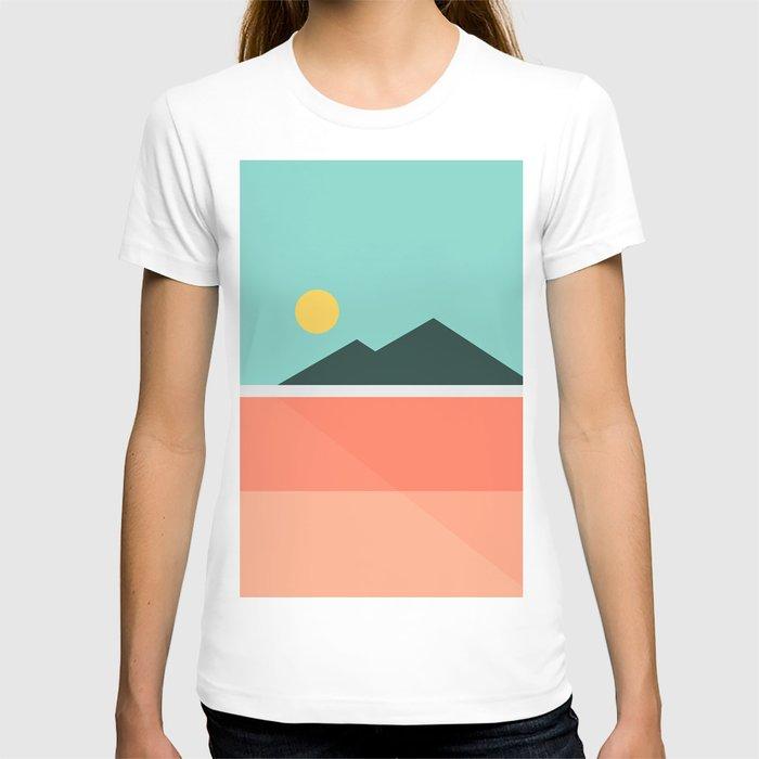 Geometric Landscape 16 T-shirt