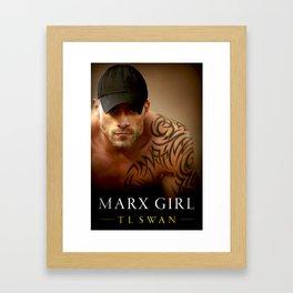 Marx Girl Framed Art Print