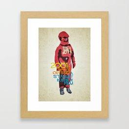 2001 - Dave Bowman Framed Art Print