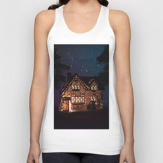 C1.3D PAPERSHOPPE BY NIGHT Unisex Tank Top