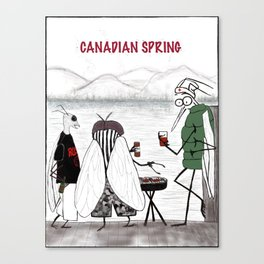 Canadian Spring Canvas Print
