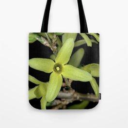 Forsythia Close up Tote Bag