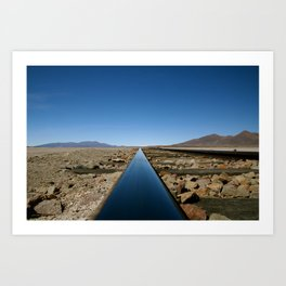 Long Line to Bolivia Art Print