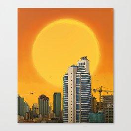 Maslak Canvas Print