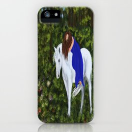 Temptress in the Forest iPhone Case
