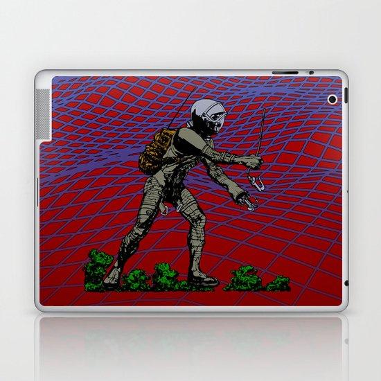 In Martian Fields Laptop & iPad Skin