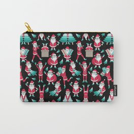 Busy Santas I Carry-All Pouch