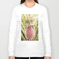 aloha Long Sleeve T-shirts featuring Aloha! by Megan Matsuoka