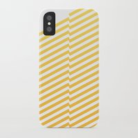 bands iPhone & iPod Cases featuring Yellow bands by blacknote