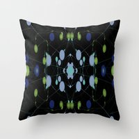 interstellar Throw Pillows featuring Interstellar by writingoverashes