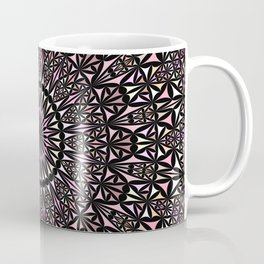 Pink Mosaic Window Mandala Coffee Mug
