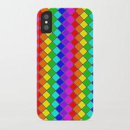 Geo (Rainbow) iPhone Case