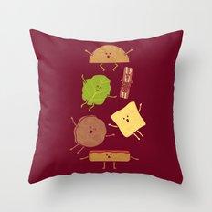 Pile On Throw Pillow
