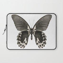 Mono Scarlet Mormon Butterfly Laptop Sleeve