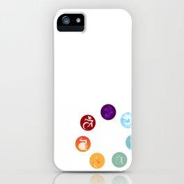 Chakras iPhone Case