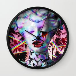 Divine Decadence Wall Clock