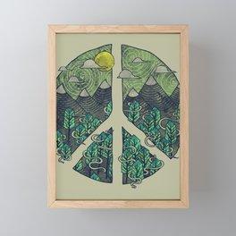 Peaceful Landscape Framed Mini Art Print