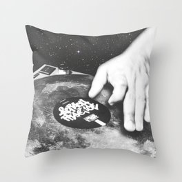 space sirens Throw Pillow