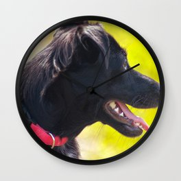 Dogs laughed Wall Clock