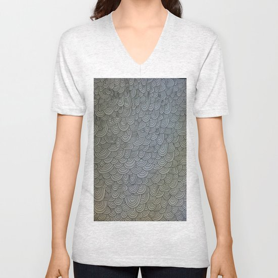Sea of Lines Unisex V-Neck